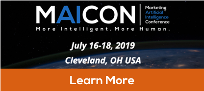 The Marketing Artificial Intelligence Conference: www.maicon.ai